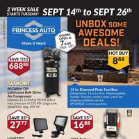 Princess Auto - 2 Week Sale Flyer