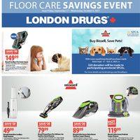 London Drugs - Floor Care Savings Event Flyer