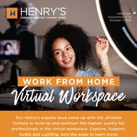Henry's - Work From Home Flyer