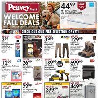 PeaveyMart - Weekly Deals - Welcome Fall Deals Flyer