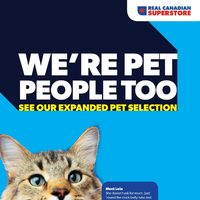 Real Canadian Superstore - We're Pet People Too Flyer
