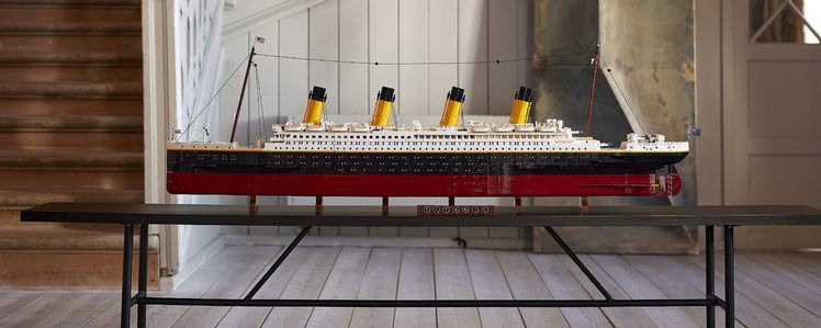 LEGO's New 9090-Piece Titanic is the Largest LEGO Set Ever