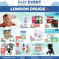 London Drugs - Baby Event Flyer