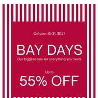 The Bay - Bay Days Flyer