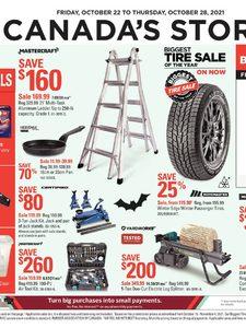 [Valid Fri Oct 22 — Thu Oct 28] Canadian Tire