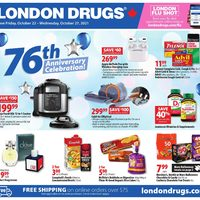 London Drugs - 6 Days of Savings - 76th Anniversary Celebration! Flyer