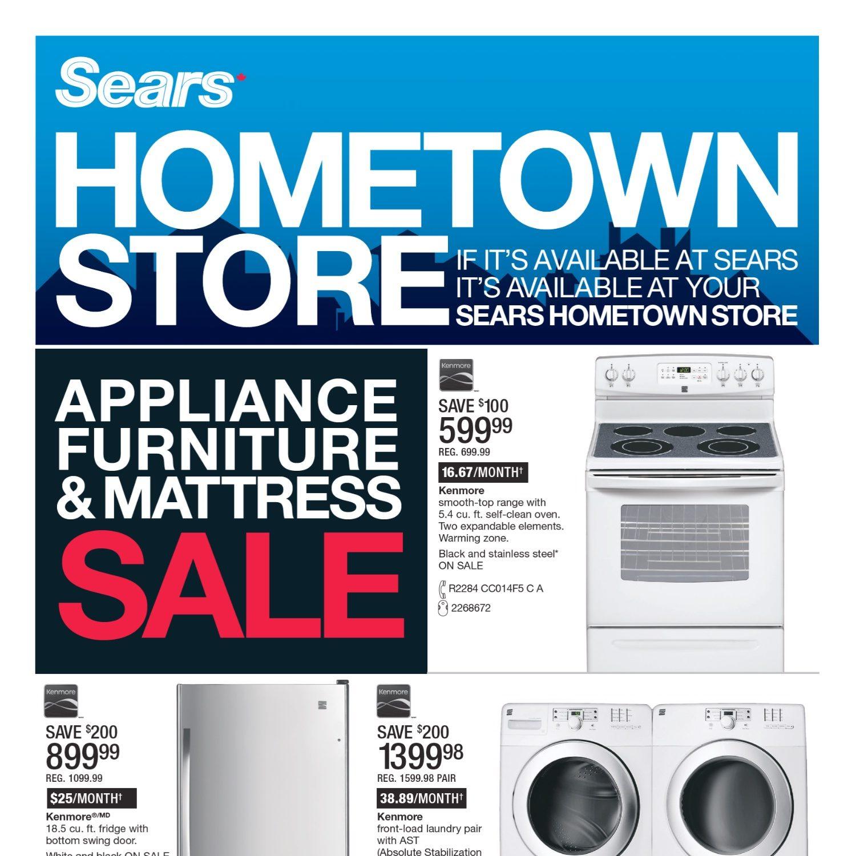 Sears Weekly Flyer - Hometown Store - Jan 25 – Feb 3