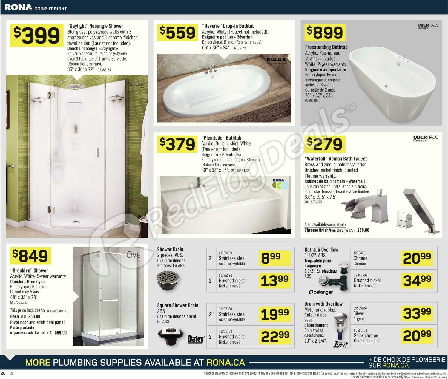 Rona Weekly Flyer Weekly Flyer Pour Bien Faire May 8 14