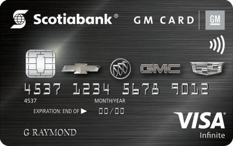 Scotiabank® GM®* VISA* Infinite Card
