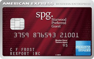 Compare best business credit cards in canada redflagdeals credit cards starwood preferred guest business credit card from american express reheart Images