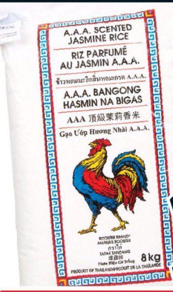No Frills: Rooster Brand Rice 8kg - RedFlagDeals com