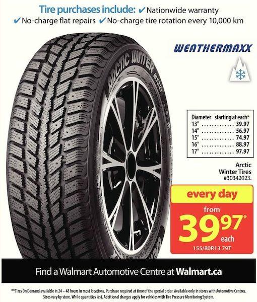 Walmart: Weathermaxx Arctic Winter Tires - RedFlagDeals com
