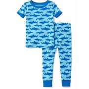 2-piece Shark-patterned Sleep Set For Toddler & Baby - $12.00 ($4.94 Off)