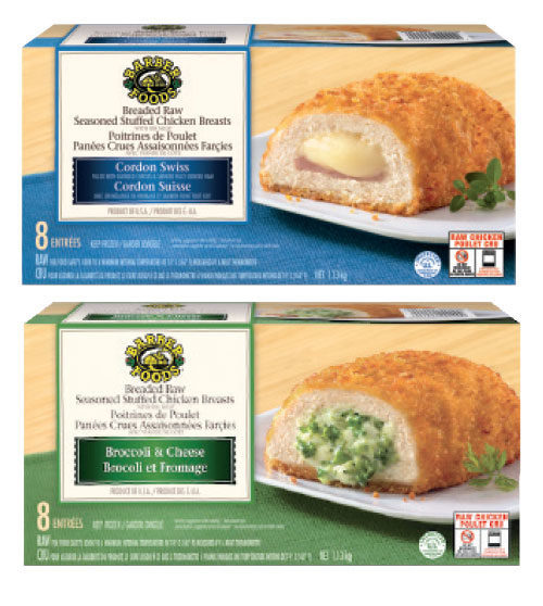 Costco Barber Foods Cordon Swiss Or Broccoli And Cheese Stuffed