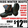 Kids Winter Boots - $12.99