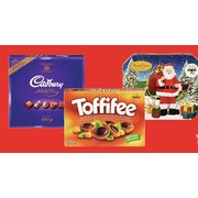 Cadbury Gift Tray, Toblerone Holiday Pack Or Gift Box, Toffifee Or Russell Stover - $7.99
