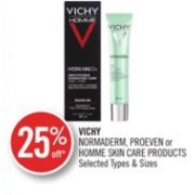 25% off Vichy Normaderm or Proeven Skin Care Products