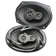 "Gravitti 6x9"" 3 Way Car Speakers - $24.99"