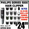 Philips Series 5000 Hair Clipper - $24.99
