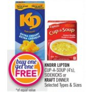Knorr Lipton Cup-a-Soup - Buy One Get One Free