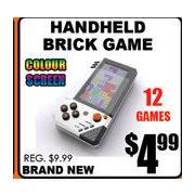 Tech Source Handheld Brick Game