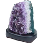 Amethyst Cluster Table Lamp - $99.99 ($100.00 Off)