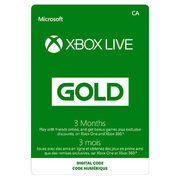 Costco.ca: Xbox Live Three-Month Gold Membership $25.49 + Get Three Bonus Months for FREE