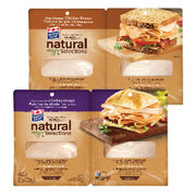 Maple Leaf Natural Selections Sliced Turkey or Chicken Breast - $3.70 off