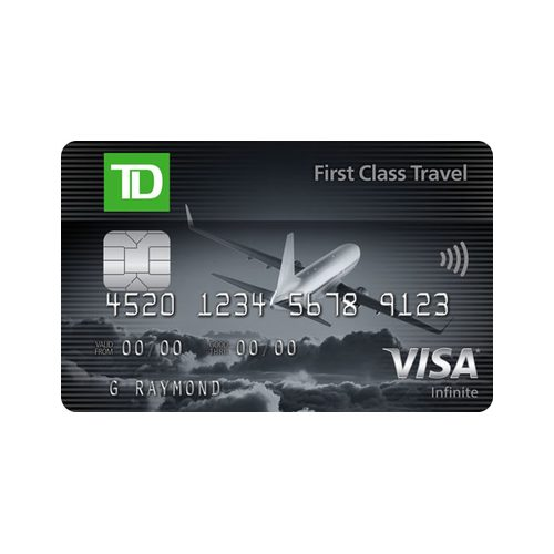 Td Credit Cards >> Td First Class Travel Visa Infinite Card Welcome Bonus