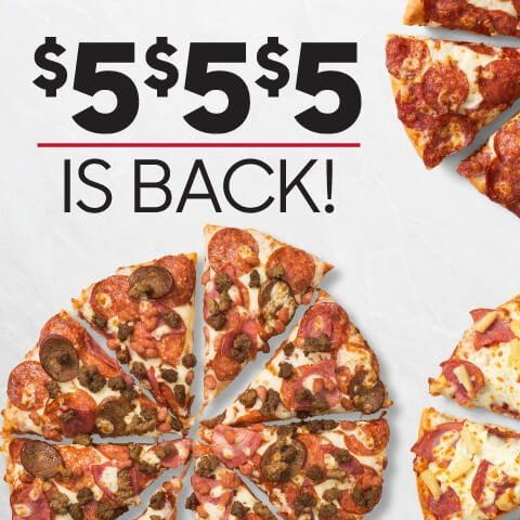 Pizza Hut Order Any Large Pizza At Regular Price And Get Up To 3 Medium Pizzas For 5 00 Each Redflagdeals Com