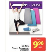 Go Zone Fitness Accessories - From $9.98