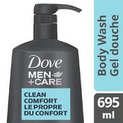 Dove Or Dove Men+Care Bar Soap, Body Wash Or Foaming Body Wash And Scrub - $5.97 ($2.30 off)