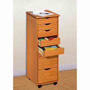 Adeptus 8-drawer Roller Cart In Pine - $147.19 ($36.80 Off)