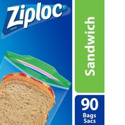 Ziploc Sandwich, Freezer Or Storage Bags  - $3.47/pack