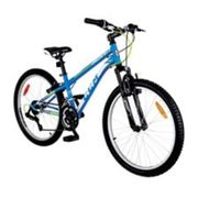 Ccm Hardline Youth Hardtail Mountain Bike, Blue, 24-in - $199.99 ($160.00 Off)