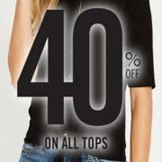 Buffalo Jeans: 40% off All Tops