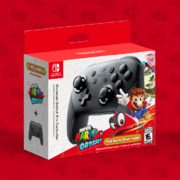 Walmart: Pre-Order the Nintendo Switch Pro Controller + Super Mario Odyssey Bundle Now