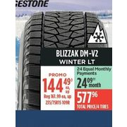 Bridgestone Blizzak DM-V2 Winter LT Tires - $144.49