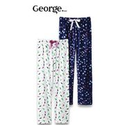 George Ladies' George Plush Pants Or Joggers  - $10.00