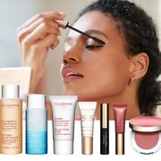 Clarins: Get a Free 7-Piece Beauty Pick-Me-Up Gift Set With Any Purchase Over $100!