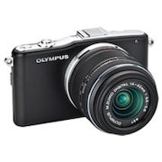 Best Buy/Future Shop: Olympus E-PM1 12.3MP Camera w/14-42mm Lens, Full HD Video & More is $350